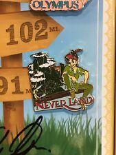 Love is an Adventure Peter Pan Tinker Bell Neverland Pin LE 1100 Scavenger Hunt