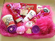 LADIES LUXURY HAMPER BASKET MUM,SISTER AUNT BIRTHDAY HAMPER PAMPER +++