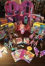 LOT She-Ra Princess of Power Crystal Castle Dolls Horses Butterflyer Accessories