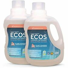 Earth Friendly Products 2X Liquid Laundry Detergent, Magnolia & Lily, 200 100