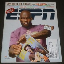 CHAD JOHNSON SIGNED ESPN MAGAZINE JUNE 16, 2008 CINCINNATI BENGALS FOOTBALL