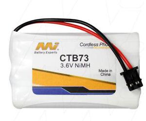 MI CTB73 3.6V NiMH Cordless Phone Battery F7356,DSS5808,DSS7805,WDECT2300,BT-446
