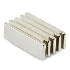 Lots 5pcs Super Strong Cuboid Block 30x10x2mm N50 Neodymium Rare Earth Magnets