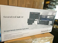 Soundcraft Ui16 16-input Remote-controlled Digital Mixer with Wi-Fi,new //ARMENS
