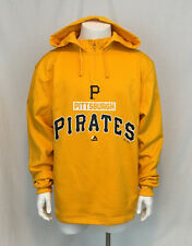 Authentic Majestic MLB Pittsburgh Pirates Mens Pull Over Hoodie Large NWT New Lg