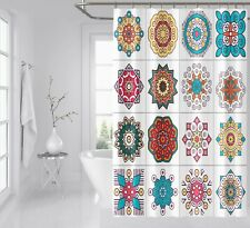 3D Floral Pattern 87 Shower Curtain Waterproof Fiber Bathroom Windows Toilet