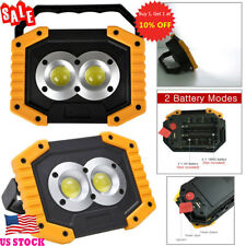LED COB Work Light USB Rechargeable LED COB Work Lamps LED Outdoor Camping Lamp