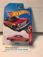 '63 Chevy II #14 * Pink * 2017 Hot Wheels * W75