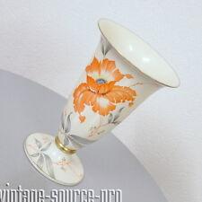 edle Rosenthal Porzellan Vase Tischvase Mohnblume 29 cm mid Century 50er Jahre
