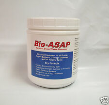 Bio-ASAP Drain Septic Bacteria, All Natural, 2lbs (Compare to Bio-Clean)