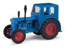 Busch/Pantalones de harina 210006401 Tractor Pionero, azul, Rojo LLANTAS, H0