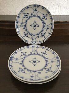 Strohblume Indischblau Suppenteller Ø 22,8 cm echt Kobalt MF Design