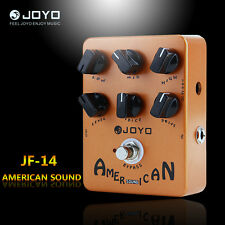 Joyo JF14 American Sound Electric Guitar Amp Simulator Effect Pedal Orange