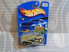 2002 Hot Wheels #140 =XS-IVE= Oro Blanco 5 Radios, Ganador