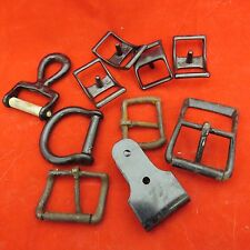 Assorted hardware - belts, leather work - North and Judd