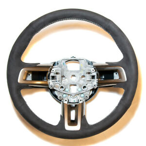 Suede Steering Wheel GT350 style for 15-17 Ford Mustang FM 5.0 V8 GT 2.3T
