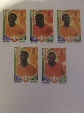 Match Attax 2010 Boka Eboue Yaya Toure Kalou Zokora Ivory Coast Trading Cards