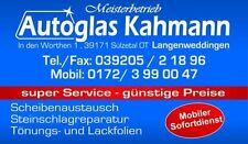 Kfz-Frontscheiben mit Einbau für Audi A3