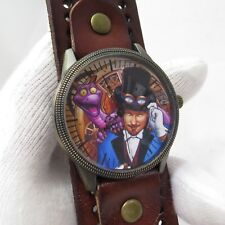 FIGMENT AND DREAMFINDER,Steampunk Bangle Unisex CHARACTER WATCH,M-92,L@@K!