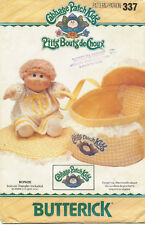 Butterick 337 Cabbage Patch Kids Bed Carrier Sewing Pattern