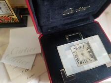 Cartier Art Deco MOP Mother of Pearl Palledium Lim. Edition Pendulette Clock