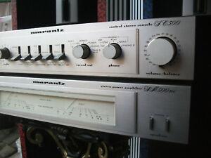 Marantz SM500DC Endstufe Verstärker Power Stereo Amplifier + SC500 Vorverstärker