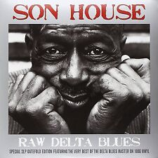 SON HOUSE RAW DELTA BLUES 2 LP GATEFOLD SET VINYL
