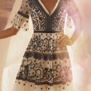 BHLDN Needle & Thread Midsummer Dress Gown size US 10 $600