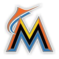 """Miami Marlins """"M"""" Decal / Sticker Die cut"""