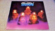 DEEP PURPLE BURN PURPLE EMI 1st UK LP 1974 CLASSIC ROCK A1/B1 RITCHIE BLACKMORE