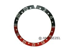 BLACE & RED BEZEL INSERT FOR ROLEX GMT MASTER I/II & SUBMARINER