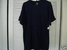 Blue Tee Shirt LAPD Moisture Wicking Heavyweight Military Police New Large