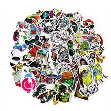 50 Random Vinyl Decal Graffiti Sticker Bomb Laptop Waterproof Stickers Skate