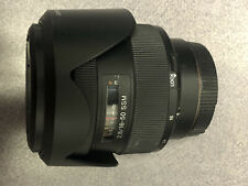 SONY SAL 16-50mm f/2.8 A MOUNT AUTO FOCUS ZOOM LENS