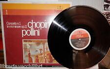 I GRANDI CONCERTI CONCERTO N 1 IN MI MINORE OP 11 CHOPIN POLLINI Musica Vinile