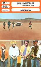 FICHE CINEMA : PUNISHMENT PARK - Boland,Foreman,Watkins 1971