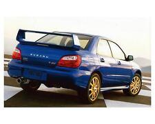 2004 Subaru Impreza WRX Sti Automobile Photo Poster zc9857