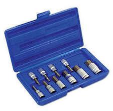 New! Allen Key Socket Bit Set 3mm - 17mm In Storage Case 3/8 Drive & 1/2 Drive