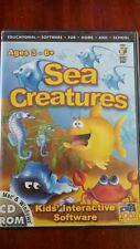 Sea Creatures - Kid's Educational Software -   PC GAME - FREE POST *