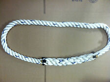 WHITE LANYARD ROPE PACKAGE OF 10