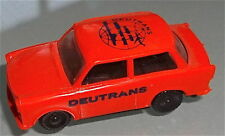orange DEUTRANS Trabant Trabbi orange H0  1:87  #HN4     å