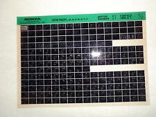 Honda VFR750 F l m n p r s t v B1996 Microfilm Catálogo de piezas repuesto