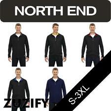 North End Mens Half-Zip Performance Top. 88187