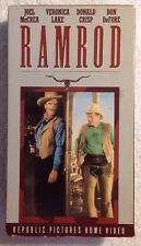 RAMROD (Prev. Viewed VHS) Joel McCrea Veronica Lake EXTREMELY RARE!!! OOP HTF!
