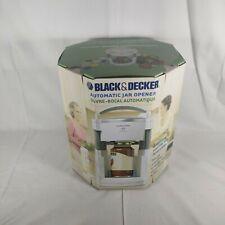 Black & Decker Lids Off Automatic Electric Jar Opener Model JW200 Brand New