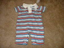 Gymboree Baby Boys Mini Aviator Striped Outfit Size Newborn NB 5-9 lbs NWT NEW
