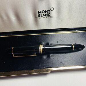 Estate Purchased Mont Blanc Fountain Pen
