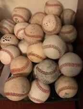 20 Used Baseballs MLB MiLB NCAA High School