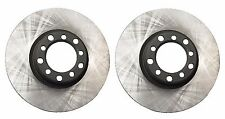Mercedes W126 380SEC 500SEC Set of 2 Front Disc Brake Rotors Pair 285mm OPParts