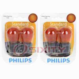 2 pc Philips Front Side Marker Light Bulbs for Ford Aerostar Cougar Crown im